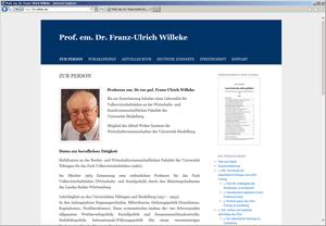 Prof. Dr. Franz-Ulrich Willeke
