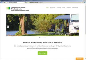 Campingplatz am Neckar